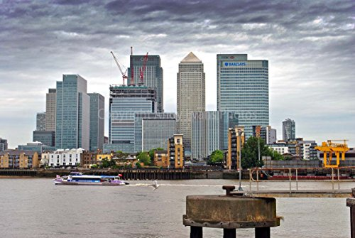 canary-wharf-photograph-an-18x12-photographic-print-of-canary-wharf-and-the-river-thames-london-dock