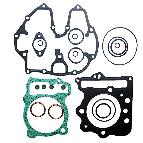 KIPA Complete Top End Head Gasket Kit For Honda TRX400EX TRX 400EX Sportrax 400 1999-2008 Honda TRX400X TRX 400X 2009-2014 Cylinder Piston Head Engine Repair Non-Asbestors