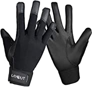 Layout Ultimate Frisbee Gloves - Ultimate Grip and Friction to Enhance Your Game! Perfect for Ultimate, Disc G
