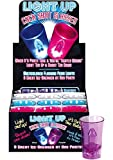 Light Up Cock Shot Glasses 12 Per Display---(Package of 2)