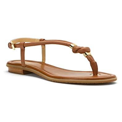 77f0706806cc Michael Kors Womens Holly Sandal Leather Open Toe