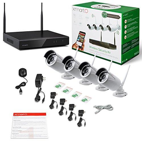 [AUTO-PAIR] xmartO WOS1344 4CH 960p HD Wireless Security ...