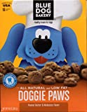 Blue Dog Bakery Doggie Paws Peanut Butter & Molasses Healthy Treats for Dogs