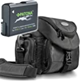 "Kit Mantona Premium SYSTEM TASCHE + NEU!! Bundlestar * PATONA PREMIUM Qualitätsakku für Nikon EN-EL14 EN-EL14a - Intelligentes Akkusystem - (echte 1050mAh !!) ""neueste Generation"" für Nikon D3100 D3200 D3300 D5100 D5200 D5300"