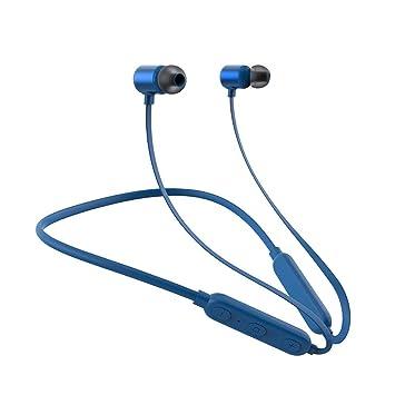 SYW Auriculares inalámbricos a Prueba de Agua Auriculares Bluetooth 4.2 Estéreo Colgante de Cuello magnético Auriculares