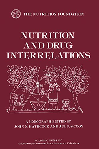 Nutrition and Drug Interrelations (Monograph Series (Nutrition Foundation).)