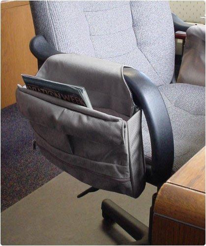 Amazon.com: Versa Pouch Hanging Office Chair Storage Organizer In Neutral  Tan Or Medium Gray: Home U0026 Kitchen