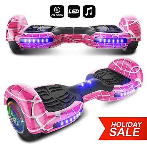 spider wheels series hoverboard ul2272