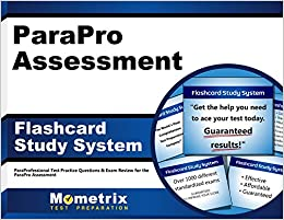 ParaPro Assessment Flashcard Study System: ParaProfessional Test ...