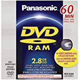 Best Panasonic Camcorders Dvds - Panasonic LM-AK60U 2.8GB DVD-RAM Disc for DVD Camcorder Review