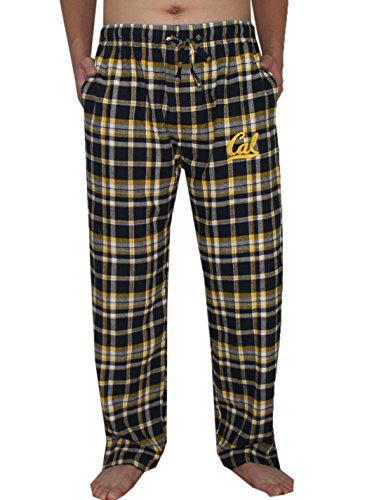 Grand Slam Gear NCAA CALIFORNIA GOLDEN BEARS Fall/Winter Plaid Pajama Pants Mens XL Dark Blue California Mens Dark Pajamas