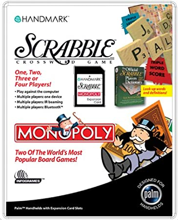 Handmark Scrabble + Monopoly PDA tarjeta de expansión: Amazon.es: Electrónica