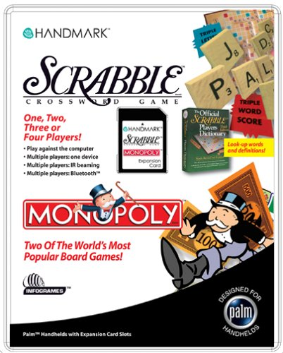 Handmark Scrabble + Monopoly PDA Expansion Card ()