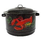 Granite Ware 6190-4 19-Quart Decorated Lobster Pot