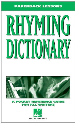 Paperback Rhyming Dictionary