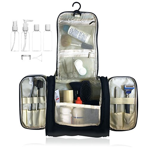 Hanging Toiletry Travel Bottle Cosmetics