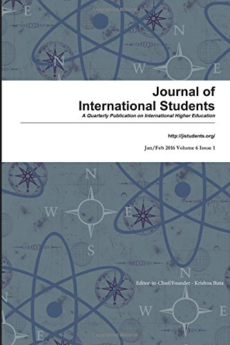 Journal of International Students 2016 Vol 6 Issue 1