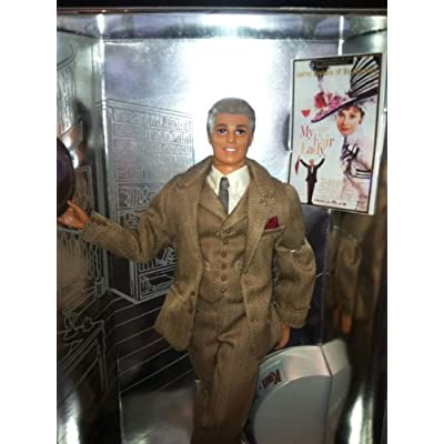 Barbie Ken Doll As Henry Higgens From My Fair Lady: Toys & Games