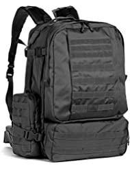 Red Rock Outdoor Gear Diplomat Pack (X-Large, Black)