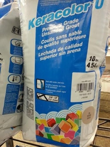 10lb Mapei KeraColor U Premium Grade Unsanded Grout- Ivory #39