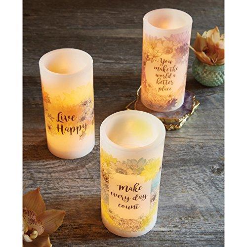 Amazon.com: CB Gift Heartfelt Collection LED Candle 3