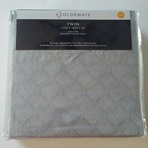 Colormate, Twin, #piece Sheet Set, Micro fiber, Home, Bedroo