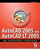 [(AutoCAD 2005 and AutoCAD LT 2005 : No Experience Required)] [By (author) David Frey] published on (June, 2004)