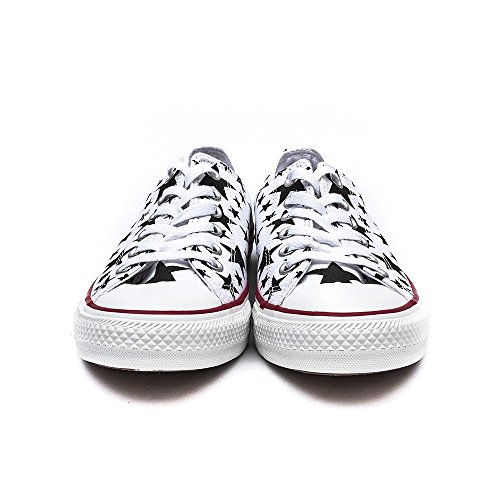 White Shoes Taylor Chuck Unisex All Converse Seasonal Star Adult Black 8Zxnqw