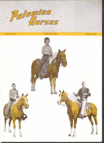 PALOMINO HORSES Mrs America Brush's Goldoak Jack Anderson & Ted Griffin 2 1960