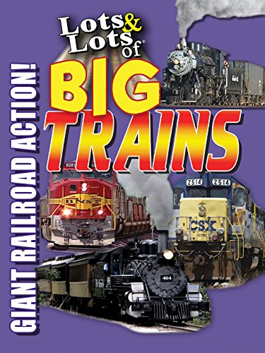 Live Steam Trains - Lots & Lots of Big Trains - Giant Railroad Action!