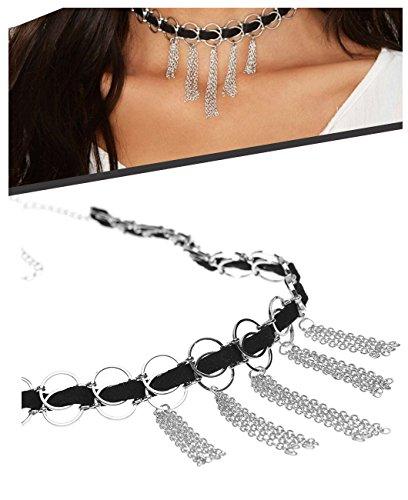 Zealmer Gothic Velvet Pendant Necklace