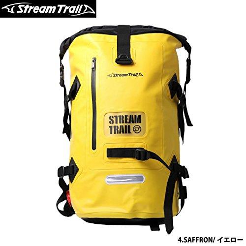 StreamTrail ストリームトレイル 防水バッグ DRY TANK D2 40L リュックサック B01KL6KSB8 4.SAFFRON/イエロー D2-40L D2-40L|4.SAFFRON/イエロー