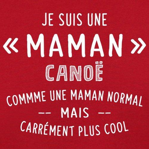 une maman normal canoë - Femme T-Shirt - Rouge - XL