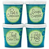 eCreamery Thinking of You Sympathy Gift - Classic Ice Cream 4 pack