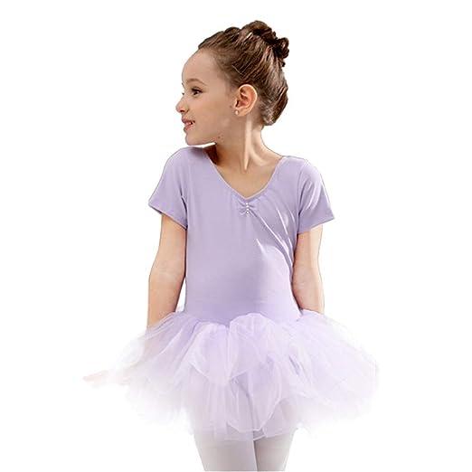 Faldas de danza para niña, Niños Niñas Ballet Dance Leotard ...