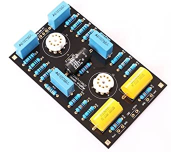 AIMELIAE Classic Circuit Tube Preamplifier Preamp Board DIY Kits For