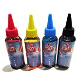 Edible Ink Refill Bottle Combo for All Canon Printer-100 ml / 3.5 oz