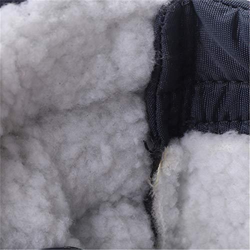 Calde Invernali Gracosy Impermeabile Stivali da Cotone All'aperto Neve Morbide Rosso Donna di Pelliccia Stivali Scarpe Scarpe Grigio Unisex Scarpe Stivaletti Y8rqzYnPx
