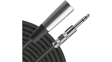 Amazon.com: Livewire TRS - XLR(M) Patch Cable 10 ft.: Home Audio ...