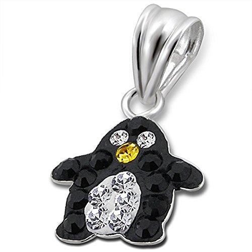 So Chic Bijoux © Enfant Pendentif Penguin Argent 925