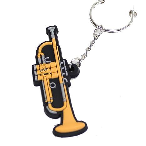 gunking Trompeta llavero Trompeta clave cadena llavero ...