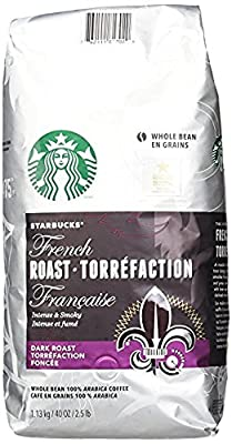 Starbucks French Roast Whole Bean Coffee, 40-Ounce by Starbucks