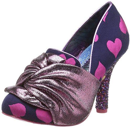 Irregular Choice Ooh La La Mid Heel Shoes in Pink (EU 42, ()
