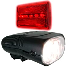 Trademark 75-275 Bicycle Headlight and Taillight Set