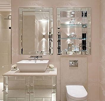 BATH ROOM MIRRORS CABINET SHELF