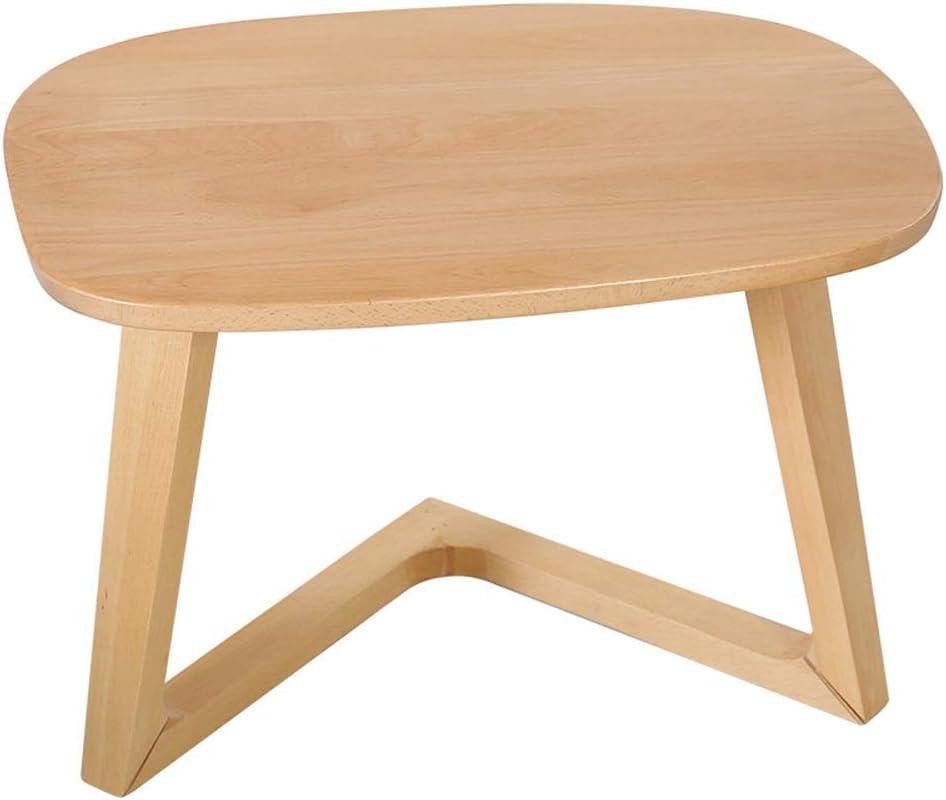 YNN ポータブルテーブル シンプルな木製コーヒーテーブルリビングルームコーナーテーブルコンピューターテーブルソファサイドテーブルバルコニースナックテーブル21.6 '' x 18.5 '' x15 '' (Color : B)