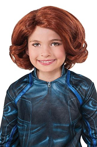 8eighteen Avengers 2 Black Widow Child Costume Wig ()