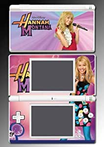 Hannah Montana Miley Cyrus Disney Idol Video Game Vinyl Decal Skin Protector Cover for Nintendo DS Lite