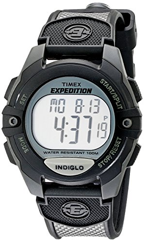 Timex Expedition Classic Digital Chrono Alarm Timer 41mm Watch (Men Proof Shock Watches For)