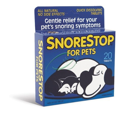 Stop ronflement pour animaux domestiques Snore Stop 20 comprimés